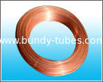 China 8* 0.65 mm Copper Coated Steel Bundy Tube With Standard Of GB/T 24187-2009 supplier