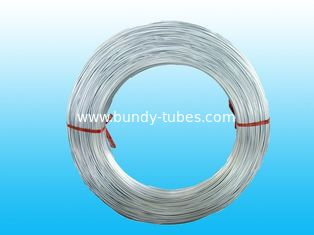 China Hot Galvanized Steel Tube , Zinc Coated Bundy Tubes 4mm X 0.5 mm supplier