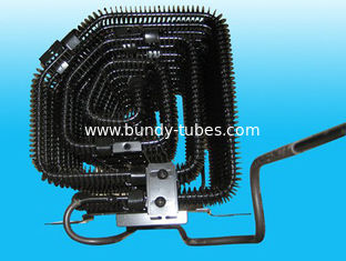 China External Wire Tube Condenser With Copper Coated Steel Tube supplier