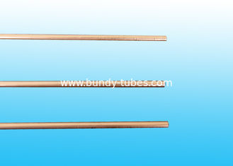China Copper Coated Compressor Tubes , Double Wall Weld Pipes 3.6 * 0.5 mm supplier