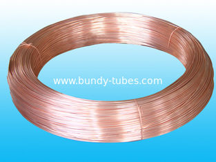 China Bundy Tubes For Refrigeration , Low Carbon, supplier