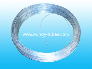 China Steel Strip Bundy Tubes 6mm X 0.65 mm , Hot Galvanized Bright supplier
