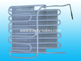 China Copper Coated Bundy Tube Refrigeration Evaporators , OEM / ODM supplier