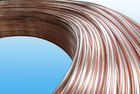 Good Quality Bundy Tubes & 0.55mm Low Carbon Copper Coated Bundy Tube For Freezer , Bundy Tubing Company on sale
