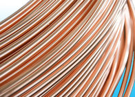 China Easy To Bend Refrigeration Copper Tube 4.76 * 0.5mm , 25% Elongation factory