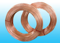 China Welded Refrigeration Copper Tube / Bundy Pipe For Compressor 6 * 0.5 mm factory