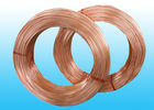 China Welded Refrigeration Copper Tube / Steel  Pipe For Refrigerator 6 * 0.5 mm company