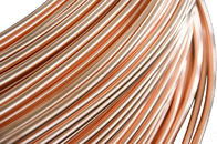 China Refrigeration Copper Tube , Single wall  Steel Pipes 4.76 * 0.65 mm company
