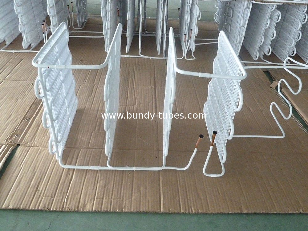 ISO Refrigeration Evaporators / wire bundy tube evaporator 10u 12u