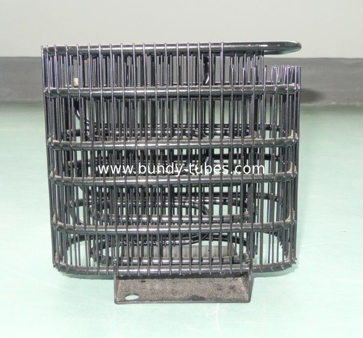 Wire Copper Coated Bundy Tube Condenser For Deep Cooling Freezer Refrigeraion Part