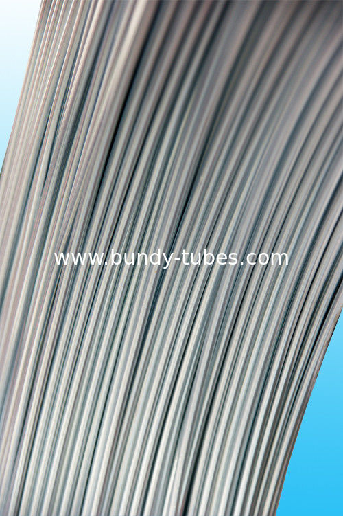 High Intensity Plain Steel Bundy Tube With Antirust Oil 4mm X 0.6 mm