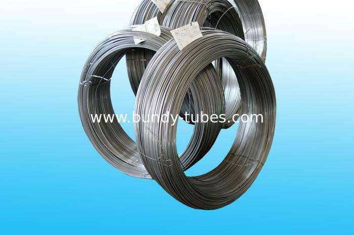 Plain Steel Bundy Tube / Low Carbon Freezer Tube 6mm Outer