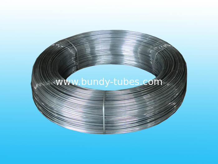 Plain Steel Bundy Tube With Antirust Oil For Brake and Fuel System