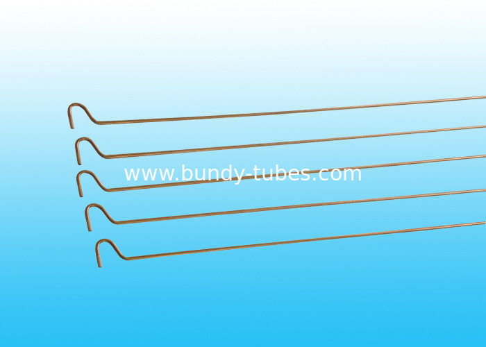 Copper Coated Compressor Tubes 4 * 0.5 mm , YB/T4164-2007 Standard