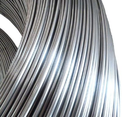 Condenser 8mm Steel Tube , No Coated Low - carbon Welded Steel Pipe