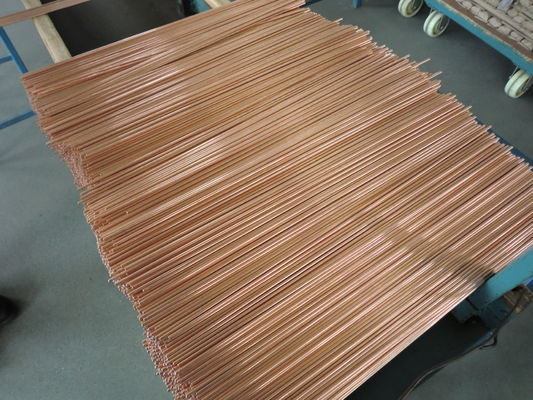 Bundy Welding Compression Tube Double Wall Copper Coated With Blast Performance