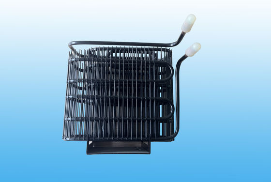 China Black Refrigerator Condenser With GB / T24187 - 2009 distributor