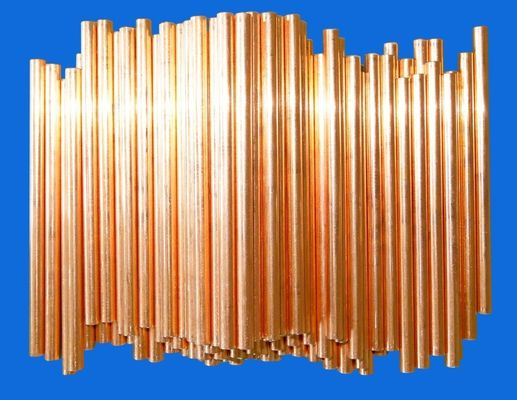 Low Carbon Air Conditioning Copper Pipe For Paper Boxes ISO9001 / ISO14001