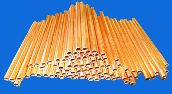 Steel Strip Air Conditioning Copper Tubing For Cooling Systems