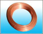 China Steel Strip Copper Coated Tube / For Freezer 8mm X 0.7 mm factory