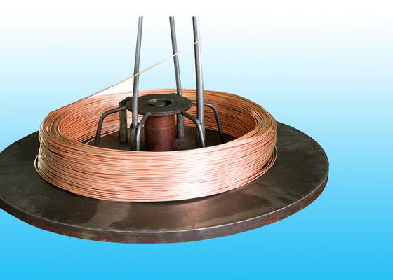 China Environmental Copper Coated Bundy Tube , Wall Thickness 0.65mm distributor