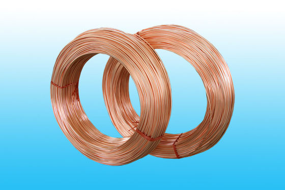 China Copper Coated Bundy Tube 6mm X 0.65 mm , GB/T 24187-2009 Standard factory