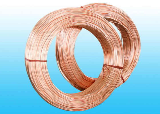 Copper Coated Bundy Tube 8mm X 0.65 mm For Cooling System