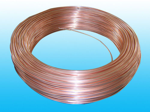 China Copper Coated Evaporator Tube 4 * 0.6 mm , Soft And Easy To Bend factory